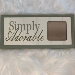 SIMPLY ADORABLE SAGE GREEN WOODEN PICTURE FRAME